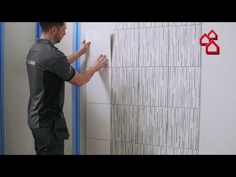 Die neue Art Fliesen zu verlegen mit Cristalgrip von Johnson Tiles | BAUHAUS