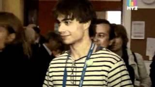 "Alexander Rybak in the hit-parade ""The stars rock"" on MUZ-TV [Eng subs]"