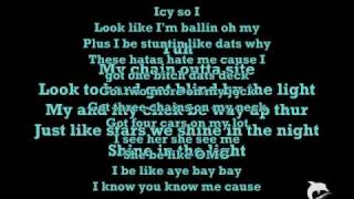 Piece and chain swangin - dorrough - lyrics (on screen)