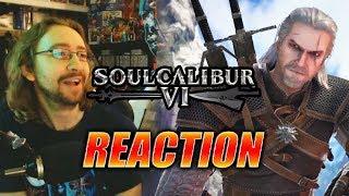MAX REACTS: Geralt Reveal Trailer - SOUL CALIBUR 6
