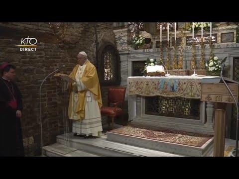 Messe du pape François au sanctuaire de Lorette