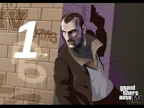 GTA 4 прохождение серия 1 (Добро пожаловать в Америку!)