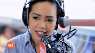 "Kakai Bautista covers ""Bakit Nga Ba Mahal Kita"" LIVE on Wish 107.5 Bus"