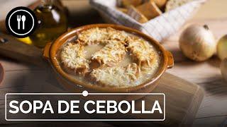SOPA DE CEBOLLA. La receta francesa tradicional