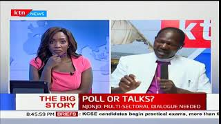Can President Uhuru Kenyatta see eye to eye with NASA leader Raila Odinga: The Big Story