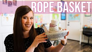 Maker Crate Unboxing May 2020 - Rope Coil Baskets