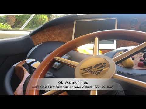 Azimut 68 Plus video