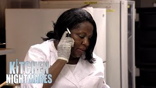 Owner Stays On THE PHONE During Re-Opening Night | Kitchen Nightmares