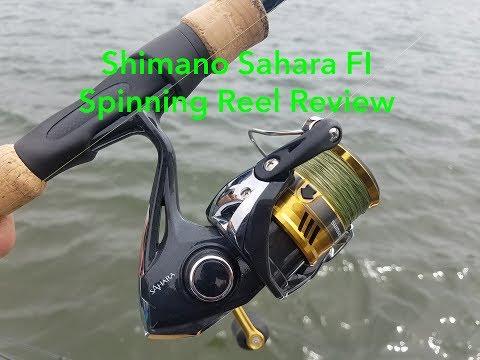 Shimano Sahara FI Spinning Reel Review