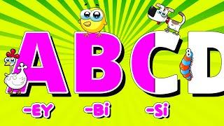 İngilizce Alfabe Şarkısı (ABC Alphabet Song)  Alpi Ve Arkadaşları Çocuk Şarkıları