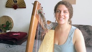 Intuitive Music on Celtic Harp | Playing The Harp By Ear | No sheet music