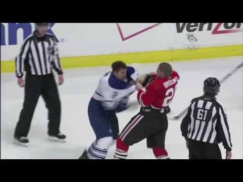 Troy Brouwer vs. Luke Schenn