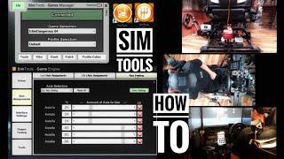 SimTools Motion Testing & Demonstration Sim Tools Simulator Game Engine Manager DOF Reality
