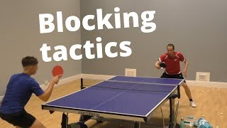 Blocking tactics to mess up your opponents