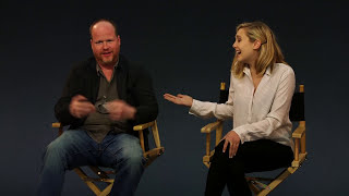 Элизабет Олсен, Joss Whedon & Elizabeth Olsen - Avengers: Age of Ultron Interview