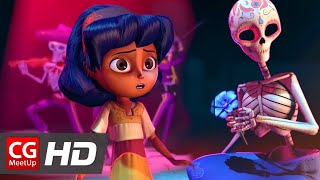 "CGI Animated Short Film ""Dia de los Muertos"" by Ashley Graham, Kate Reynolds, Lindsey St 
