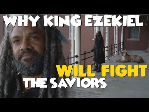 TWD: King Ezekiel is READY to Rise Up & March to War! (7x13 - The Kingdom Character Spotlight)