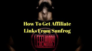 How To Get Affiliate Links From Sunfrog (Sunfrog Affiliate)
