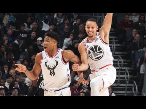 34c9ce7f49ad Steph s INSANE Bounce Pass Alley-Oop To Giannis!