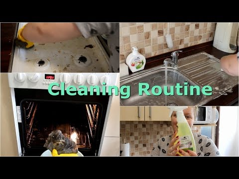 Úklid kuchyně | Cleaning routine