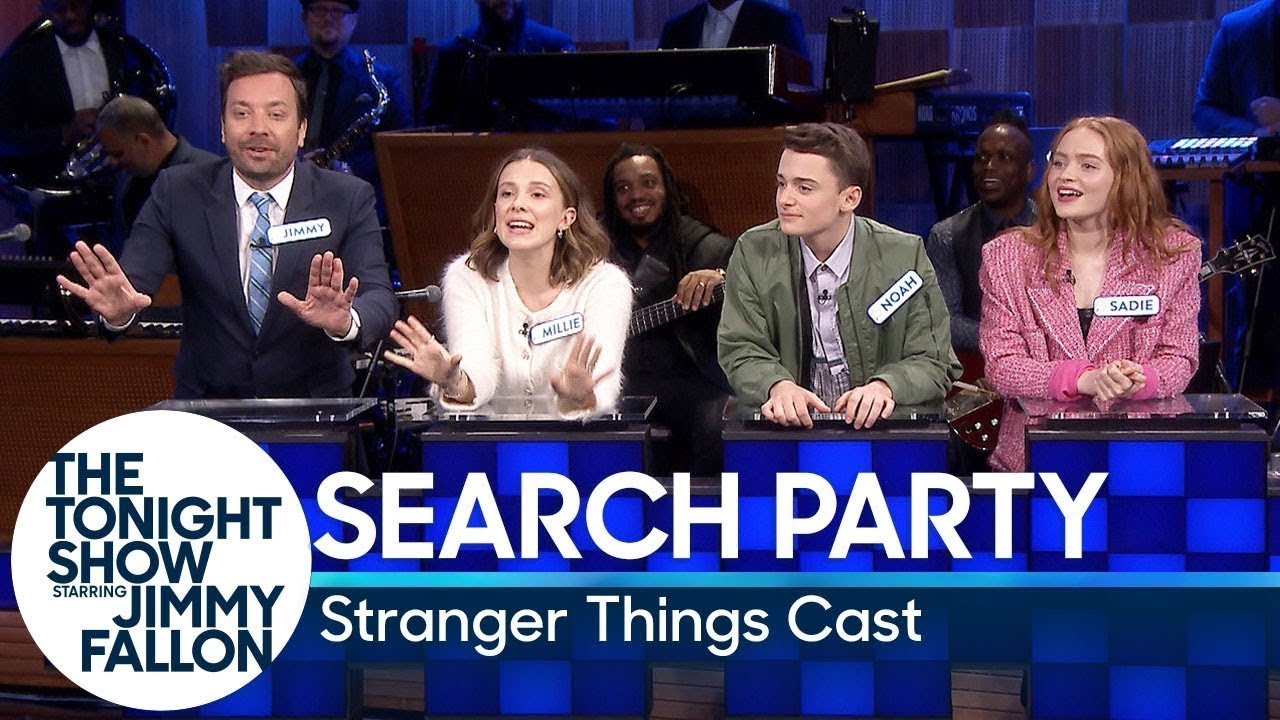 Search Party with the Stranger Things Cast thumbnail