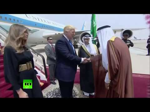 RAW: Trump in Saudi Arabia for first foreign visit, meets King Salman