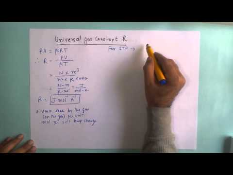 Universal Gas Constant R
