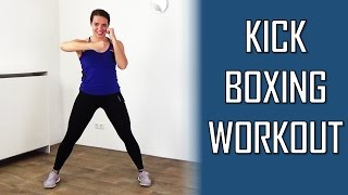20 Minute Kickboxing Workout - Fat Burning and Fun Kickboxing Cardio Techniques Training by FitnessType