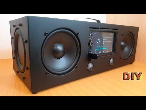 DIY: Multimedia Bluetooth Boombox Speaker