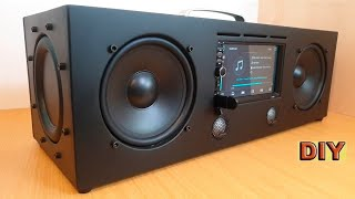DIY: Multimedia Bluetooth Boombox Speaker