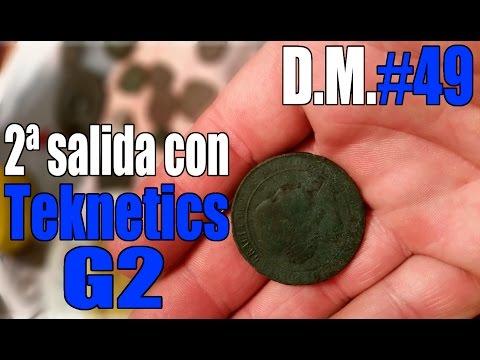 2ª salida con detector de metales Teknetics G2 - Detección Metálica ep. 49