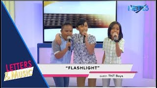 TNT BOYS - FLASHLIGHT (NET25 LETTERS AND MUSIC)