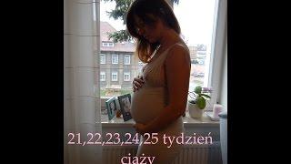 VLOG Macierzyństwo- 21,22,23,24 i 25 tydzień ciąży