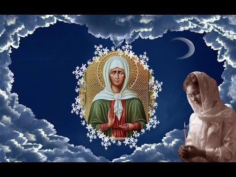 Очень душевная и красивая песня-молитва к матушке Матроне.