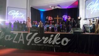 Mercy manqele worshiping live in Tanzania