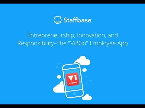 Entrepreneurship, Innovation, and Responsibility—The Vi2Go Employee App