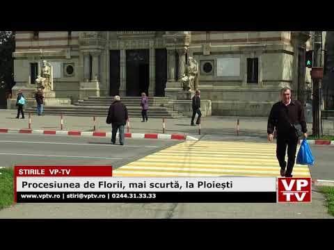 Procesiunea de Florii, mai scurtă, la Ploiești