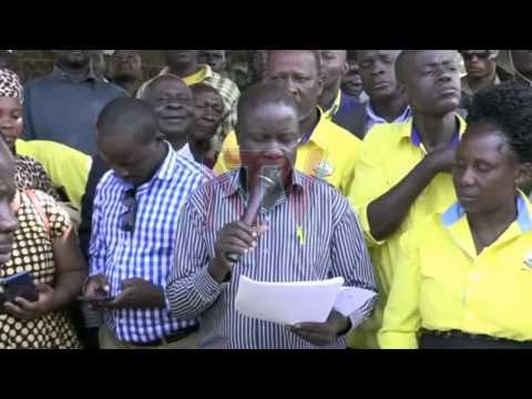 John Kintu awangudde, NRM ejjuzza ekifo kya ssentebe w'e Mityana