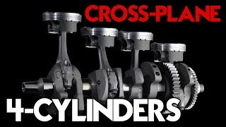 The Only 3 Cross-plane Inline-4 Engines In The World