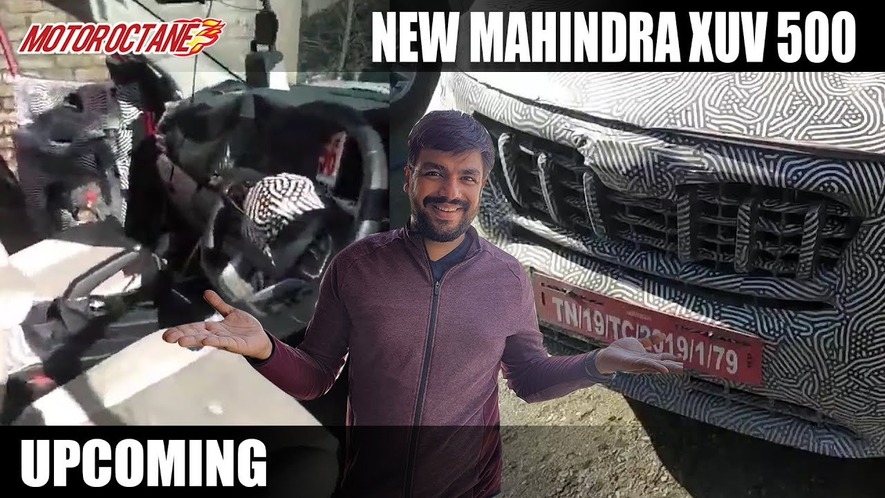 Motoroctane Youtube Video - New Mahindra XUV500 2021 - Launch Date and More Details!