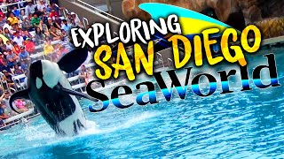 A Fun Day At SeaWorld San Diego! | Adventure Vlog | 2019 Full Park Overview And Roller Coasters