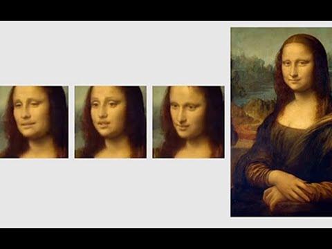 Портрет Джоконды оживили
