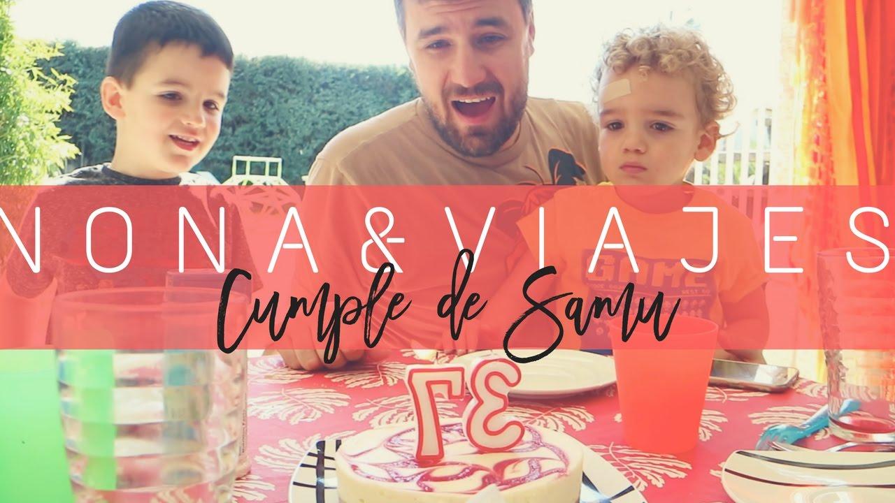 SAMU ES UN ASALTACUNAS & CUMPLE DE SAMU EN LA SIERRA - Vlog Nona&Viajes