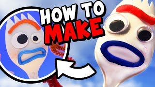How to Make FORKY from TOY STORY 4!