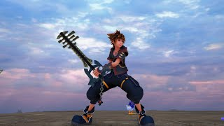 Ends of the Earth model over Elemental encoder showcase - Kingdom Hearts 3 mods