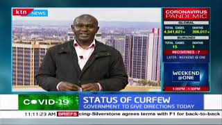 Status of curfew: Government to give further directions today