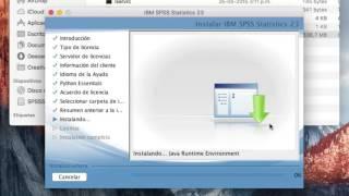 SPSS 23 para MAC con clave  - El Capitan OS X
