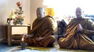 Monks Chant in New Home