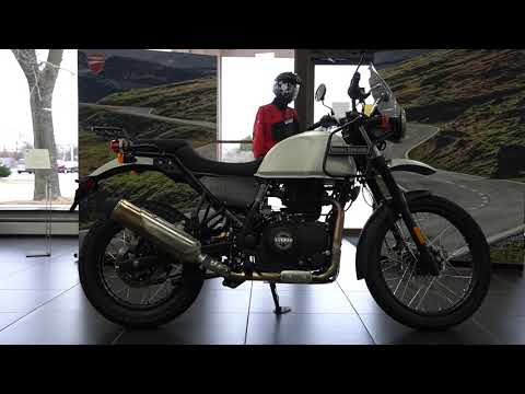 2020 Royal Enfield Himalayan 411 EFI ABS in West Allis, Wisconsin - Video 1