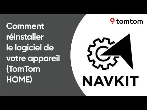 Comment réinstaller le logiciel de votre appareil de navigation à l'aide de TomTom HOME